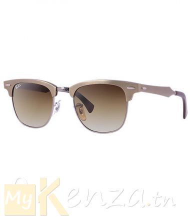 vente-Lunette-Ray-Ban-Clubmaster Aluminum-RB3507-139/85-mykenza-tunisie